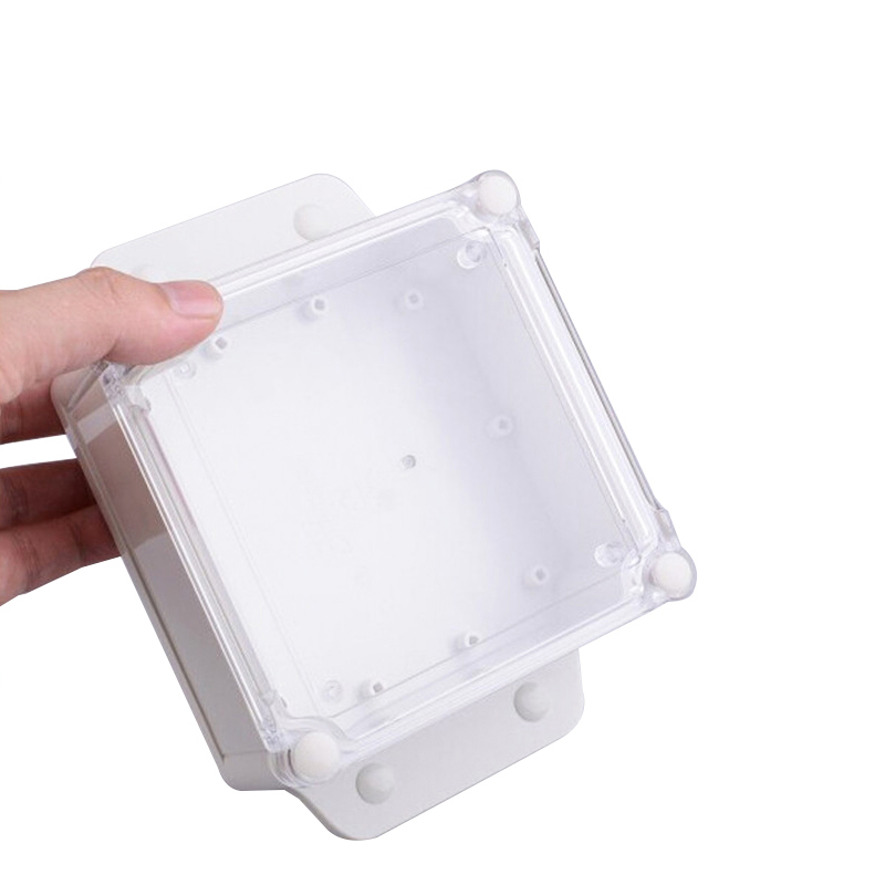 ip68 clear wall mount watertight electrical boxes