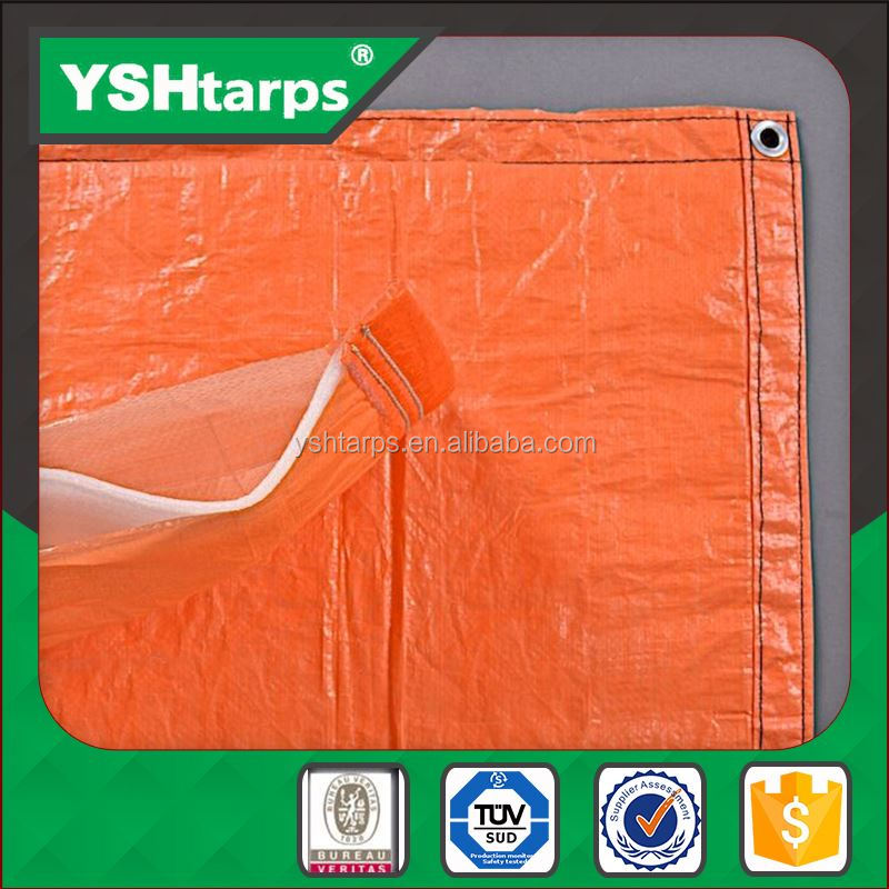 2016 HDPE LDPE Orange Heated Tarp