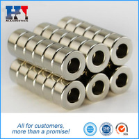Permanent Disc Countersunk Ring NdFeB Magnets Neodymium Magnet