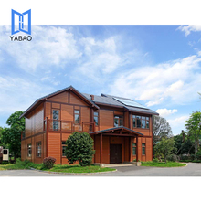 Prefabricated luxury aluminum villa/China prefabricated homes/prefab house
