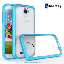 Case for Samsung galaxy s4 cases i9500 Transparent mobile phone back case cover