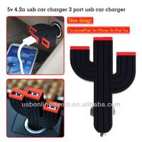 Universal USB Car Charger 3-Port USB Car Charger for All Devices - Apple iPad 4, iPad mini 2, iPhone 5, Samsung Galaxy Note