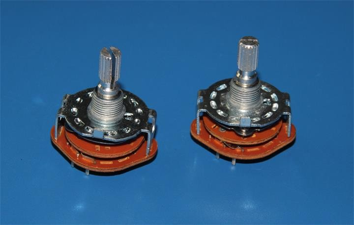 Rotary Switch and Hongwang 2 pole 5 position rotary switch