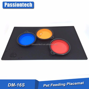 2017 amazon hot sell Pet Feeding Mat for Dog and Cat In Premium FDA Grade Silicone