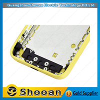 low price promotional for iphone 5c back cover housing replacement