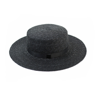 Fashion Ladies Wide Brim Summer Promotional Cheap Beach Straw Hat