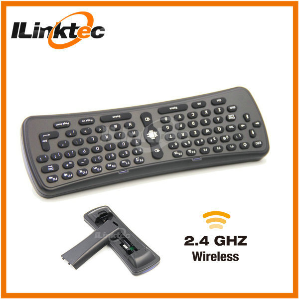 Portable 2.4GHz cheap wireless keyboard and mouse for Android smart tv