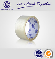 Super adhesive acrylic glue and strong BOPP film self adhesive fiberglass mesh tape as carton sealing tool with SGS certificate