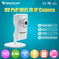 PNP 720P Network Mega Pixel Wireless Pocket H.264 P2P Wifi Ip Camera
