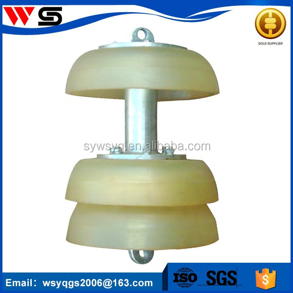 polyurethane poly foam pig cups for swabbing pipeline