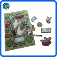 Custom Design Preening Carton Colour Stickers, Customized Adhesive Waterproof Printed Cartoon Sticker, Cartoon Vinyl Stickers Pr