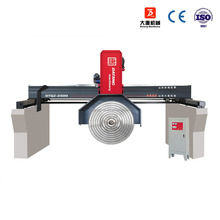 CHINA ShangDong Datang machinery DTQZ-2800 Bridge Black Multi blade Block Cutter for Marble/granite slab