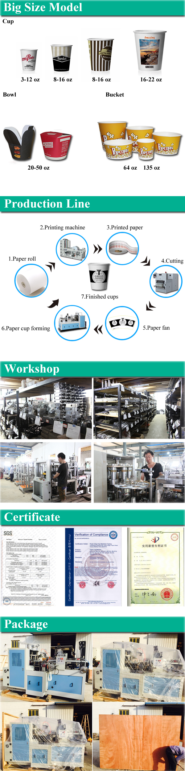High Quality Automatic Paper Cup Making Machine
