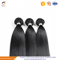 Factory direct sale remy hair 100 human virgin indian brown