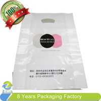 China Logo printed packing plastic bag for clothes