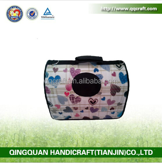 QQ Pet Factory Wholesale Cheap Bike Pet Carrier & Portable Pet Cat And Dog Carrier Bags