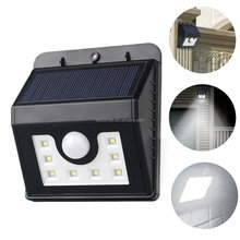Outdoor Solar Power Light Motion Sensor Light Control 8 LEDs SMD IP65 with Waterproof