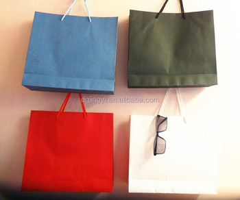 Wholesale lady bag models and prices/paper shopping bag made in Dongguan China