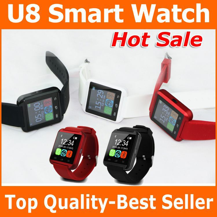 2016 Best Selling Cell Phone Accessories Advertising Xmas' Gift U8 DZ09 GT08 A1 Smart Wrist Watch Factory top class quality