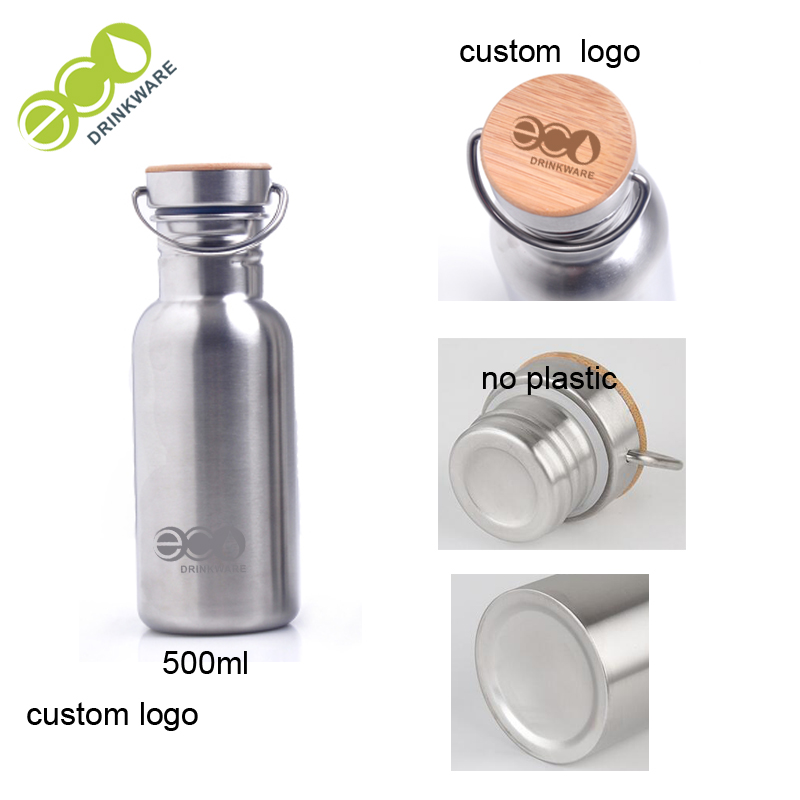 GS002 bamboo water bottle