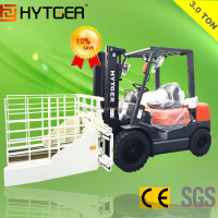 3000 Kg Forklifts Block Clamps Forklift With Brick Clamps Attachment