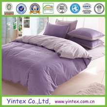 1800TC Wrinkle Free Soild Microfiber Brush Bed Sheet Material