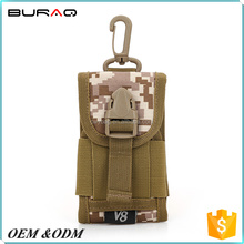 Camouflage MOLLE Tactical Smart Phone Pouch Holder Military Bag