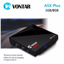 VONTAR V8 Mini Android 7.1 TV BOX Rockchip RK3328 1GB 8GB 2.4G WIFI 100M LAN HD2.0 USB3.0 4K TV BOX