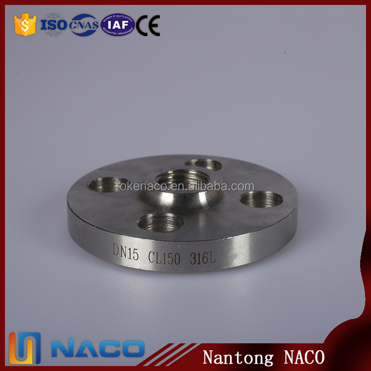 Oem A182 F316 304 Stainless Steel Raised Face Welding Neck Reducing Flange