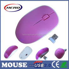 New mould computer accessories 2.4GHz wireless optical mice for PC and laptop
