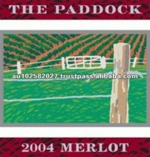 2004 The Paddock 13.8% Premium Grade Merlot Red Wine Brands
