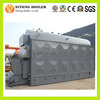 Zhengzhou Boiler Factory 2 4 6 8 t Coal / Wood Chip Steam Boilers