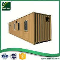 DESUMAN professional custom strong customized beautiful outlook prefab modular 40ft container home
