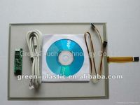 GreenTouch 10.4 inch 4 wire Resistive touch screen manufacturer