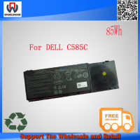 High capacity laptop battery for dell precision m6400 C585C F729F F224C 9CELL 85WH free shipping