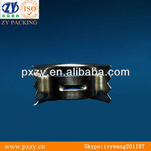 Metallic intalox saddle,metal tower packing for petrochemical industry, chemical industry and environmental protection
