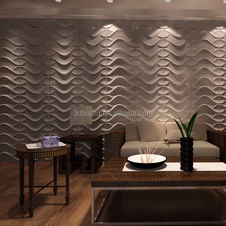 Wholesale Cheap Eco-friendly Bamboo Wallpanel Wall Covering Lightweight Interior Exterior Decorative 3D