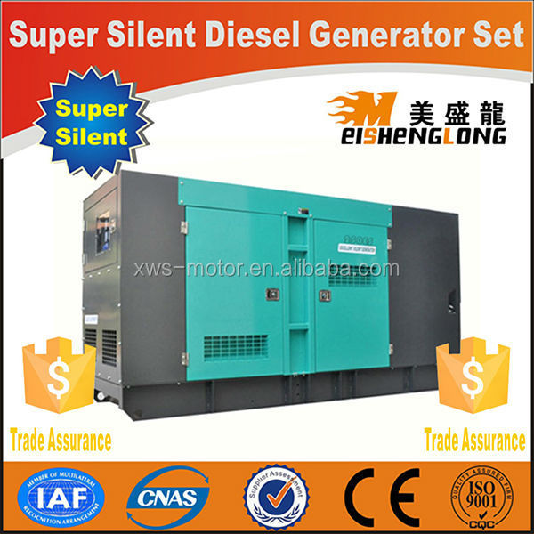 Hot sale! Diesel engine silent generator set genset CE ISO approved factory direct supply clip on generator