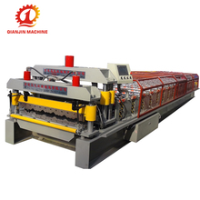 Zinc Roofing Sheet Machine Making Profiles, Glazed Tile Forming Press Machine For Zinc Sheet