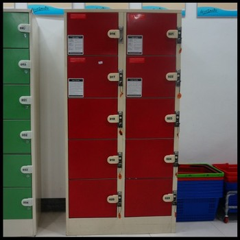 Factory Supplied Luggage Storage Lockers For Airport Or