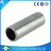 high quality stainless steel 2 inch long running nippling