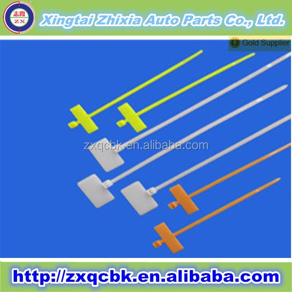 2015 ZHIXIA 120Lbs White Labeling Cable Ties Zip Wires Self Locking Nylon Cable Ties 100Pcs/ Bag