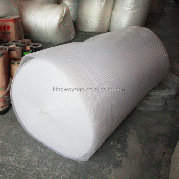 white dustbin air plastic bubble bag for wine bottles