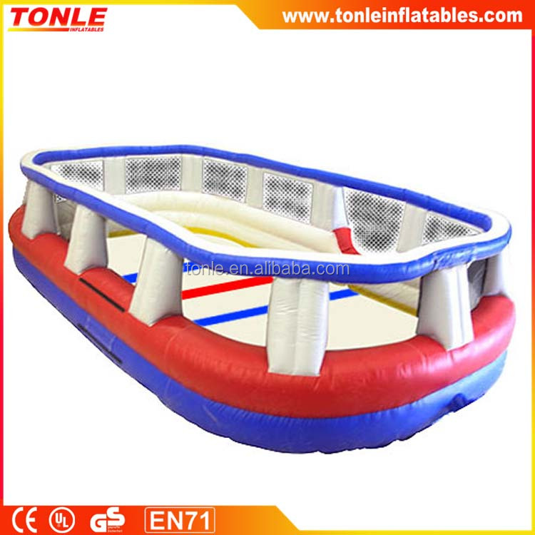 Indoor Mini Inflatable Hockey Rink for kids, Inflatable Hockey Arena for sale