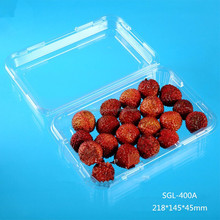 clamshell plastic fruit container