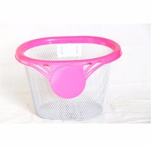 Wholesale decorative girl's bike kids bicycle front basket