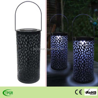 antique solar metal lantern for home and garden decoration