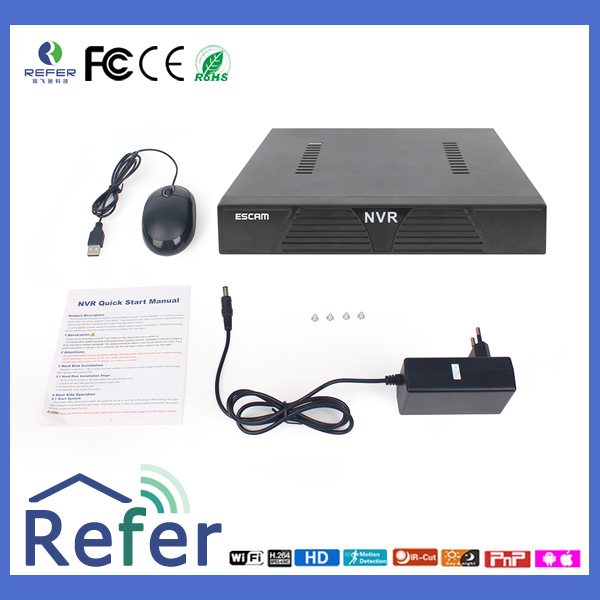 High Quality ESCAM IR H.265 ip camera cctv DVR/NVR/AVR