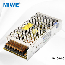 Competitive price single output 100w led driver power supply 48V 3.2A 100W S-100-48
