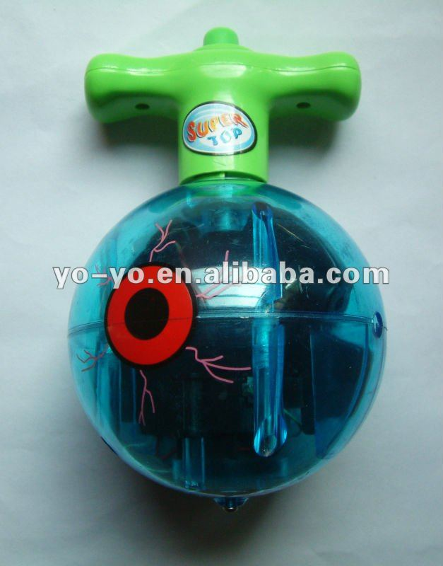 HY676 Spinning plastic Top